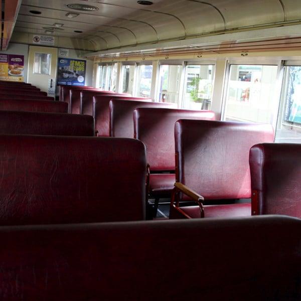 passeio de trem vagão turístico