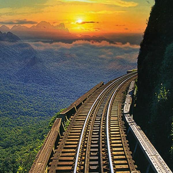 passeio de trem